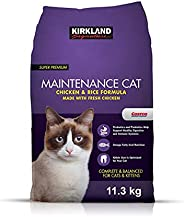 Kirkland Signature Chicken and Rice Cat Food 25 lbs. (11.3KG)