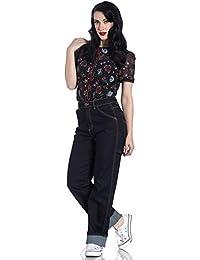 reputable site 45008 d4301 Amazon.it: anni 50 - Blu / Jeans / Donna: Abbigliamento