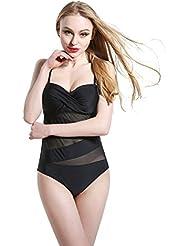 AMYMGLL Mme bikini maillot de bain de source chaude Europe et la forte élasticité de protection de l'environnement des États-Unis Slim