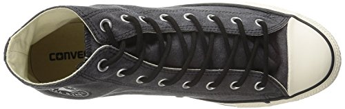 Converse - Chuck Taylor All Star Adulte Basic Wash HI, Scarpe Da Ginnastica unisex Black