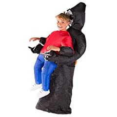 Idea Regalo - Bodysocks® Costume Gonfiabile da Triste Mietitore per Bambini