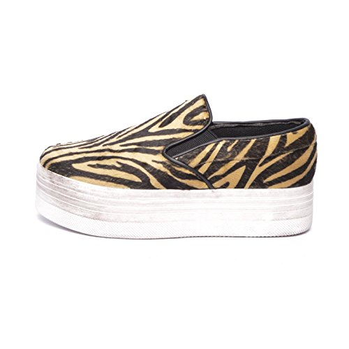 JC Play WTF Pony Zebra - Beige/Black White Beige
