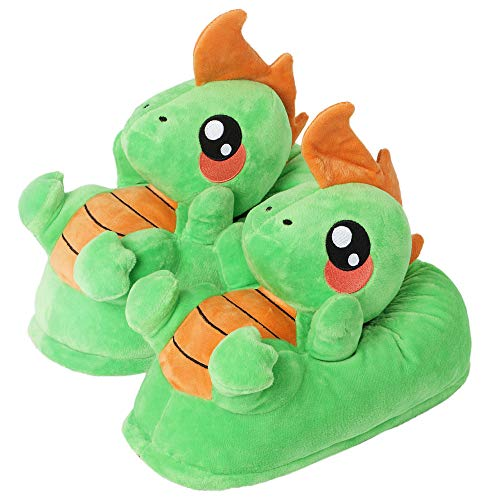corimori 1847 (Various Animal Designs) Animal Shaped Plush Booties, Carpet Slippers