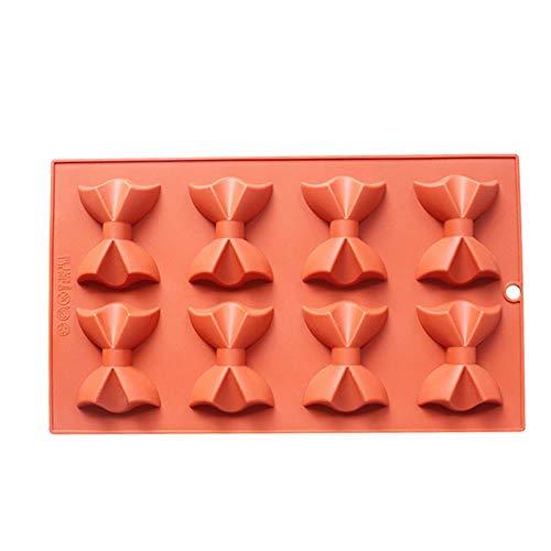 8- Rosette Schokolade Weihnachten Silikon Kuchen Form Backformen Set Backformen Set Silikon Formen für Kuchen Dekoration (Minifigur Lego Gitarre)