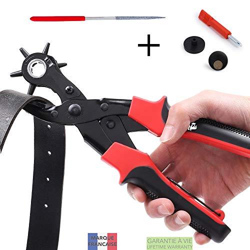 TAKIT Alicate Sacabocados Agujeros Cinturon - Perforador