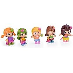 Pinypon Pin Y PON Cubo Mix Is MAX de 10 Figuras, (Famosa 700013811)