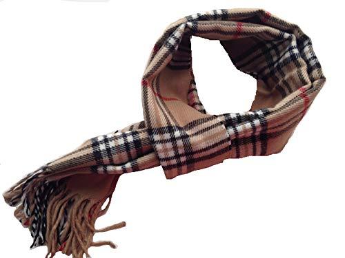 LEGADO Bufanda cuadro escoces suave bufanda de poliester estilo de cuadro de invierno bufanda caliente...
