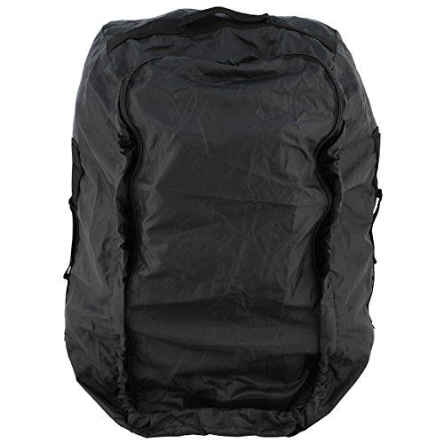 BKL1® Rucksacküberzug Regenschutz Nässeschutz Rucksack oder Tasche 80-100 Liter schwarz 1611