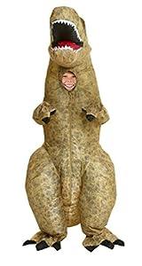 MORPH Morphsuits - Disfraz Infantil, diseño de T-Rex, Hinchable (Talla única)