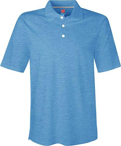 Hanes - Maglietta sportiva - Maniche corte  -  uomo Blu