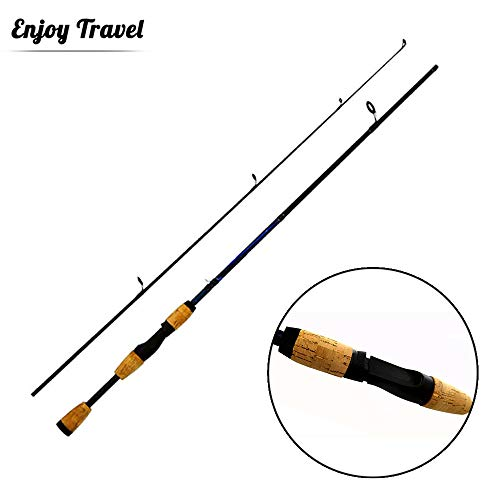 GWBNHH Teleskop Angelrute Carbon Aal Dam, Fishing Rod Hai Mini Carp Kinder Karpfen,Spinning