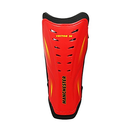 Vector X Manchester Shin Guard - Large (Red)