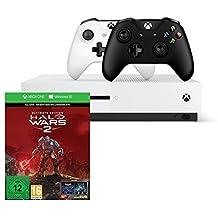 Xbox One S 1TB Konsolen-Bundle inkl. Halo Wars 2:Ultimate Edition + Xbox Wireless Controller (schwarz)