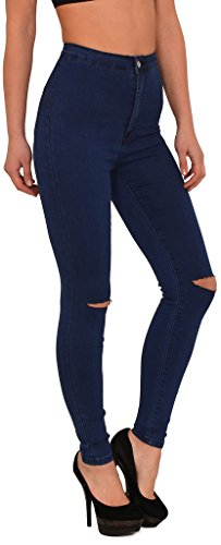 Jean femme skinny Jeans femmes genou pantalon en jean femme déchiré slim surdimensionner J184 J232