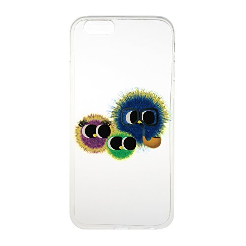 Meet de Etui / Cover / Case / Coque / Protection Coque Étui Case Cover Coque TPU Housse pour Apple iphone 6 /iphone 6S - peint Hairball