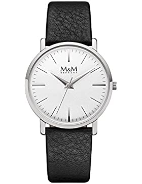 M&M Damenuhr Leder M11926-442 New Classic