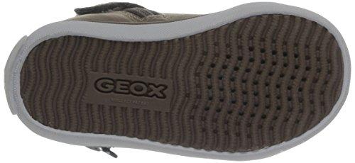 Geox B Kiwi Girl Baby Mädchen Babyschuhe - Lauflernschuhe Beige - Beige (Dk Beige)