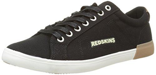 Redskins Segar, Baskets Basses homme Noir (Noir/Cognac)