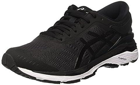 Asics Gel-Kayano 24, Chaussures de Running Homme, Noir (Black/Phantom/White), 44.5 EU