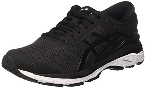 ASICS Gel-Kayano 24, Chaussures de Running Homme, Noir (Black/Phantom/White 9016), 42 EU