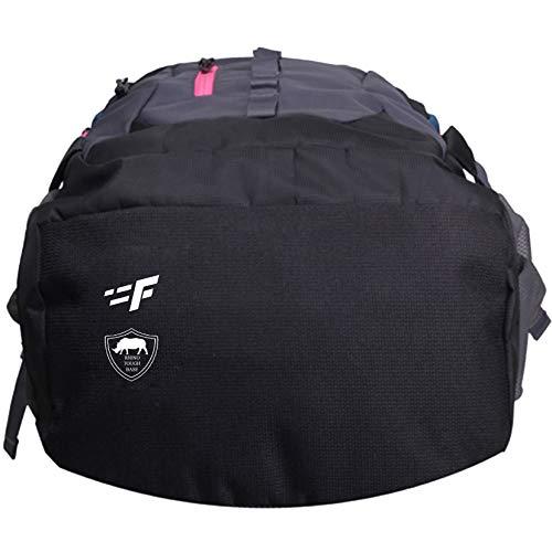 Best college bags for girl in flipkart in India 2020 F Gear Defender V2 45 Liters (Navy Blue, Pink) Rucksack Image 6