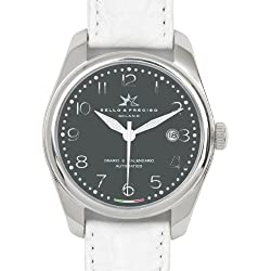 """Bello & Preciso italienische Armbanduhr Modell """"39"""" Grigio"""
