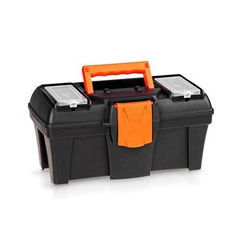 Kunststoff Werkzeugkoffer 30 cm - ORANGE LINE -