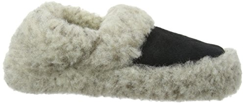 Woolsies Staten, Chaussons mixte adulte Gris
