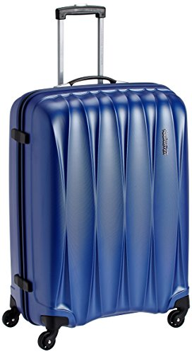 American Tourister Polycarbonate 68 cms Midnight Blue Hardsided Suitcase (38W (0) 11 002)