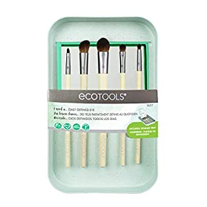 Ecotools Daily Defined Eye Kit Set de 5 Brochas para Ojos, 21 g