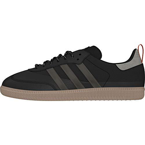 adidas Herren Samba OG Sneaker, Mehrfarbig (Core Black/Trace Grey Met. F17/Grey Five Ee5590), 43 1/3 EU