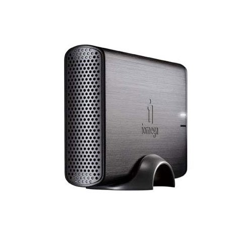 Iomega Home Media Network NAS-System mit Festplatte 1TB (8,9 cm (3,5 Zoll), 1x1TB, USB, Ethernet)