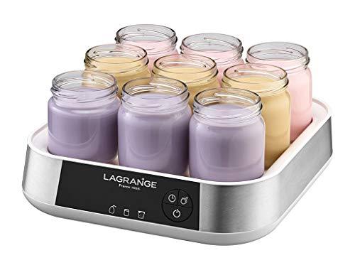 Lagrange - 459601 - Yaourtière et fromagère 9 pots 18w ligne