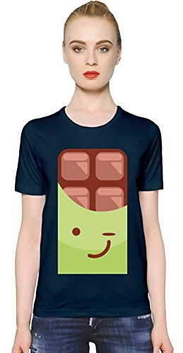 Cute Chocolate Logo Womens T-shirt Medium
