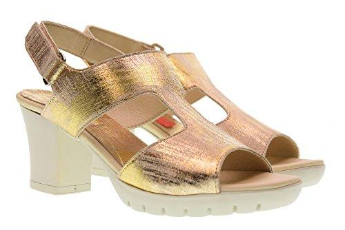 CallagHan 98111 Sandalen Damen Goldene