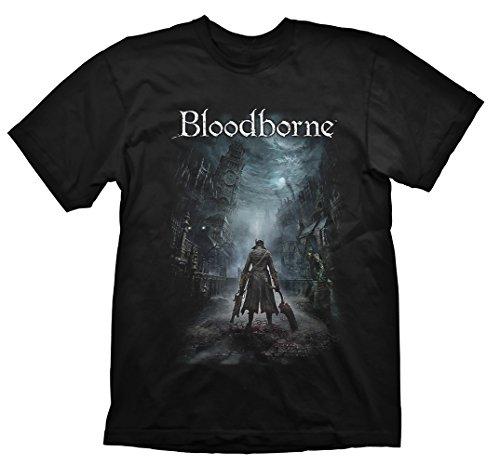 Price comparison product image Bloodborne T-Shirt Night Street,  Medium