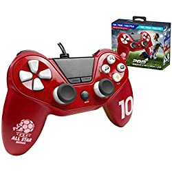 Subsonic - Mando, Color Rojo (PS4, PS4 Slim, PS4 Pro, PS3, PC)