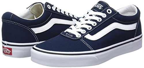 Vans Herren Ward Canvas Sneakers, Blau Dress Blues/White Jy3, 44.5 EU