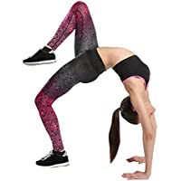 Mujer Color Pantalones Deportivos,Longra ★ Yoga Pantalón Mujer Pantalón Deportes Gimnasio Yoga Running Fitness Leggings Pantalones Pantalones de entrenamiento (Negro, XL)