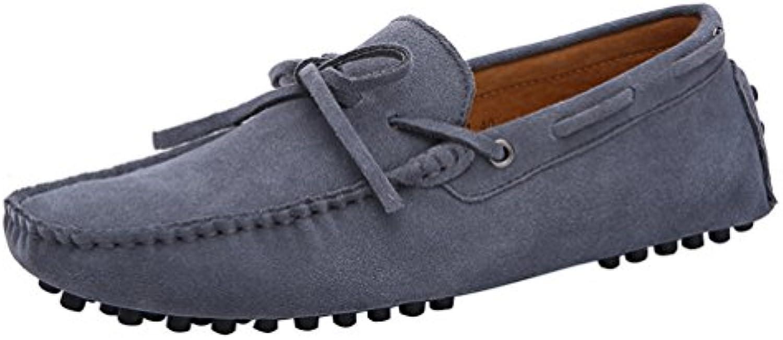 CFP - Botas mocasines hombre, color gris, talla 41