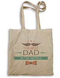 El mejor padre del papá en el mundo bolso de mano o18r