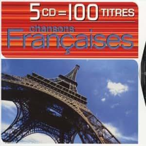 Coffret 5 CD : Chansons Françaises