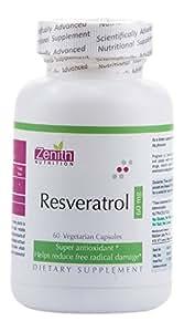 Zenith Nutrition Resveratrol 60 mg -60 Capsules