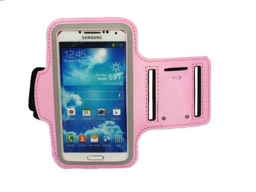 Super Best Slim Fit Light Pink Courir Brassard couverture de cas pour Samsung Galaxy i9500 S4 SIV