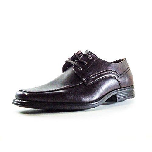 TRESHER , Chaussures de ville à lacets pour homme Marron - Marrón