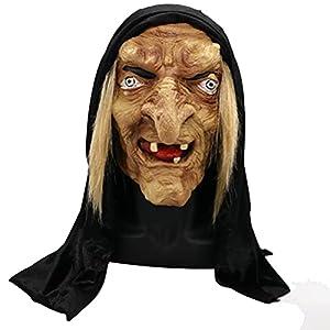 BSTCAR Máscara de bruja de