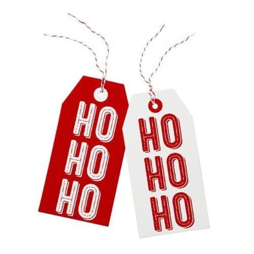 Ho Ho Ho Oversize Natale regalo etichette (Confezione da 8)