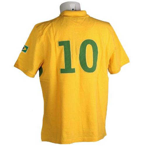 Signum, kurzarm Polohemd Poloshirt, 302450 Brasilien, sun gras [10140] Sun