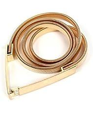 YYH MS elegante cinturón cadena metal de la aleación . gold