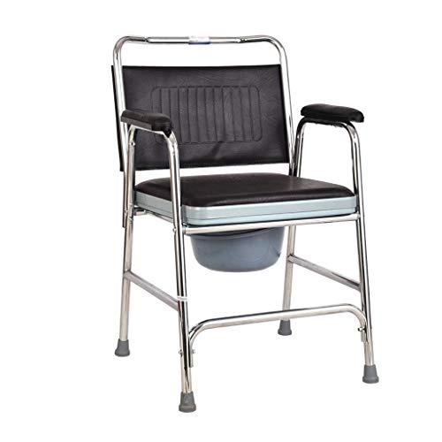 STOUBYT FURNITURE CASA Multifunktionaler Tragbarer Toilettensitz für Ältere Behinderte Mobiler Duschstuhl Rollstuhl - Mobiler Duschstuhl